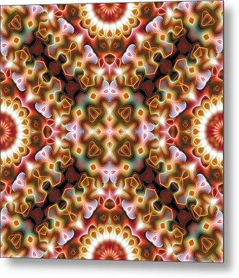 Mandala 121 Metal Print by Terry Reynoldson