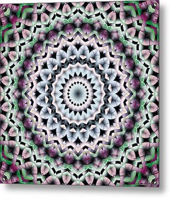 Mandala 40 Metal Print by Terry Reynoldson