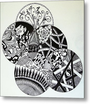 Mandalas Metal Print by Lori Thompson