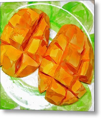 Mango Metal Print by Chris Butler