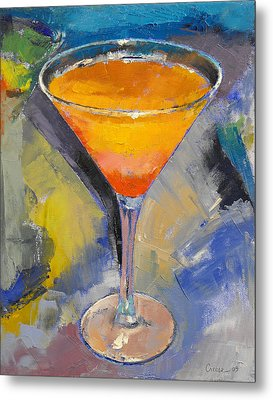 Mango Martini Metal Print by Michael Creese