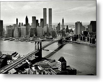 Manhattan 1978 Metal Print by Benjamin Yeager