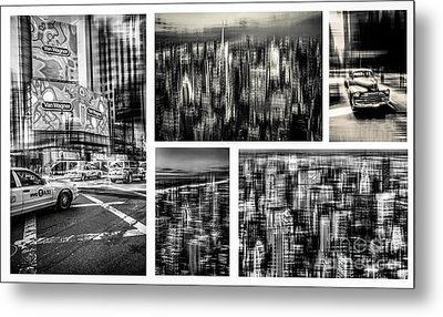 Manhattan Collection I Metal Print by Hannes Cmarits