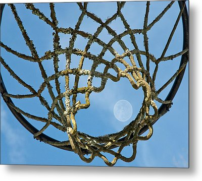 Many Baskets Made Many Moons Ago Metal Print by Lena Wilhite