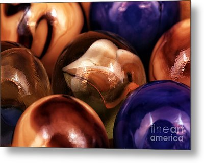 Marble Choices Metal Print by John Rizzuto