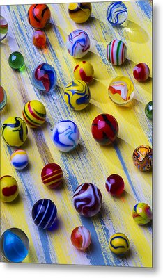 Marble Still Life Metal Print by Garry Gay
