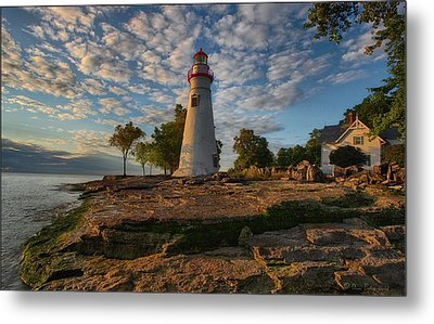 Marblehead Lighthouse Metal Print by Daniel Behm