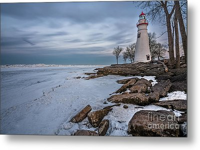 Marblehead Lighthouse  Metal Print by James Dean