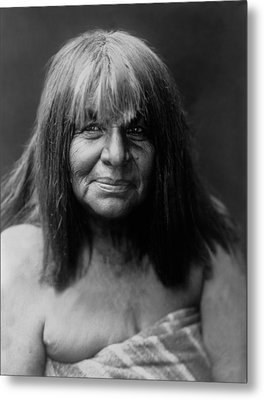 Maricopa Indian Women Circa 1907 Metal Print by Aged Pixel