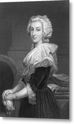 Marie Antoinette Metal Print by Underwood Archives