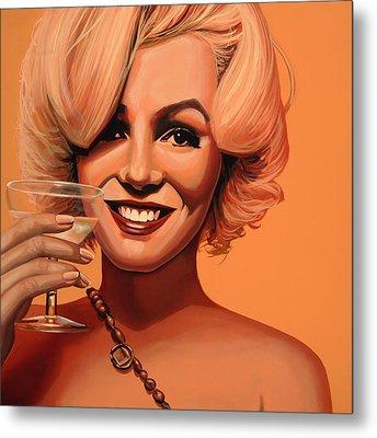 Marilyn Monroe 5 Metal Print by Paul Meijering