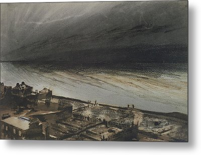 Marine Terrace In Jersey Metal Print by Victor Hugo