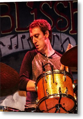 Mark Raudabaugh Of Donna And The Buffalo Metal Print by Bill Gallagher