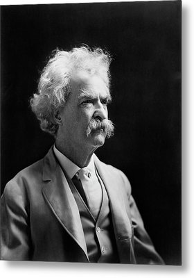 Mark Twain Metal Print by Library Of Congress