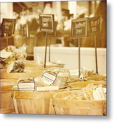Market Day Metal Print by Kim Hojnacki