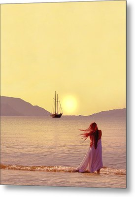 Marmaris - Turkey Metal Print by Cambion Art