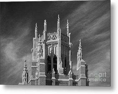 Marquette University Marquette Hall Metal Print by University Icons