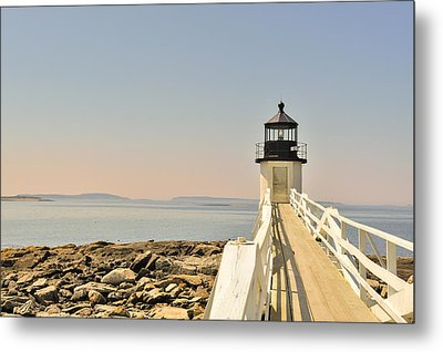 Marshall Point Lighthouse Maine Metal Print by Marianne Campolongo