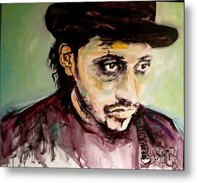 Martin Grech Metal Print by Michelle Dommer