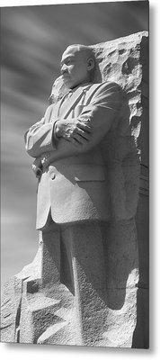 Martin Luther King Jr. Memorial - Washington D.c. Metal Print by Mike McGlothlen
