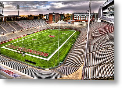Martin Stadium At Washington State Metal Print by David Patterson