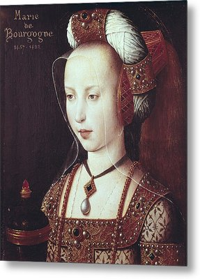 Mary 1457-1482. Duchess Of Burgundy Metal Print by Everett