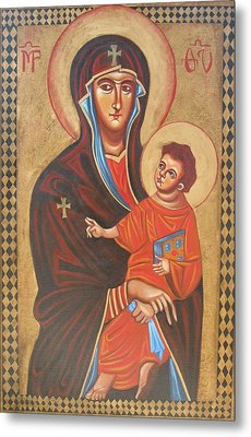 Mary Help Of The Romans Metal Print by Joseph Malham