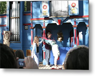Maryland Renaissance Festival - A Fool Named O - 121216 Metal Print by DC Photographer