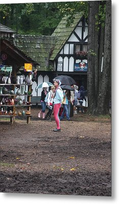 Maryland Renaissance Festival - A Fool Named O - 121231 Metal Print by DC Photographer