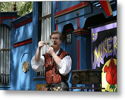 Maryland Renaissance Festival - Mike Rose - 12125 Metal Print by DC Photographer