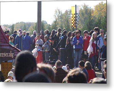 Maryland Renaissance Festival - People - 121246 Metal Print by DC Photographer