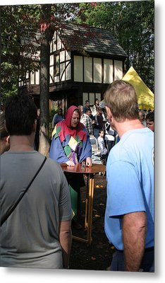 Maryland Renaissance Festival - People - 121252 Metal Print by DC Photographer