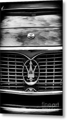 Maserati 3500 Gt Monochrome  Metal Print by Tim Gainey