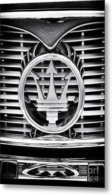 Maserati  Metal Print by Tim Gainey