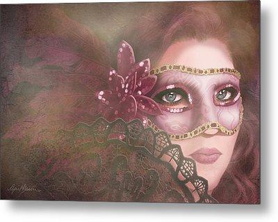 Masked IIi Metal Print by April Moen