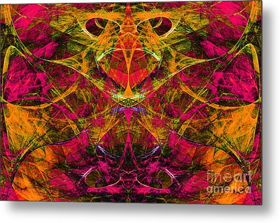 Masquerade 20140128 Metal Print by Wingsdomain Art and Photography