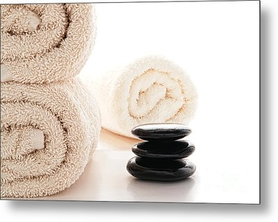 Massage Ready Metal Print by Olivier Le Queinec