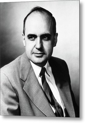 Maurice Hilleman Metal Print by National Library Of Medicine