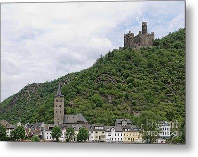 Maus Castle In Germany Metal Print by Oscar Gutierrez