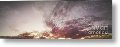 Mauve Skies Metal Print by Holly Martin