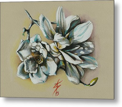 May Beauty Be With You.. Metal Print by Alessandra Andrisani