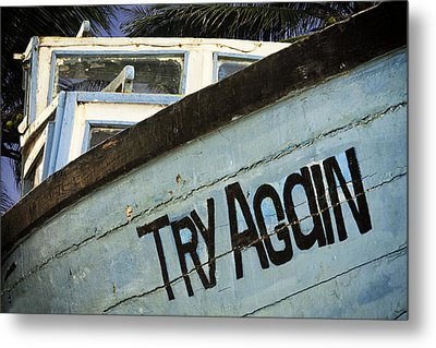 Maybe Next Time Metal Print by Andrew Soundarajan