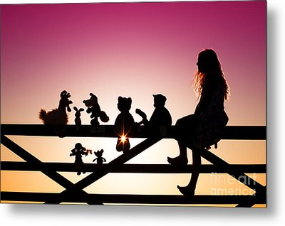 Me And My Friends Metal Print by Tim Gainey