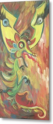 Me Losing My Temper Metal Print by Suzanne  Marie Leclair