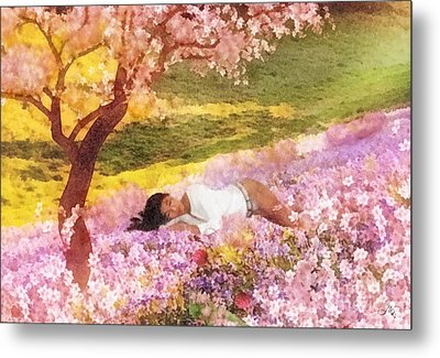 Meadows Of Heaven Metal Print by Mo T