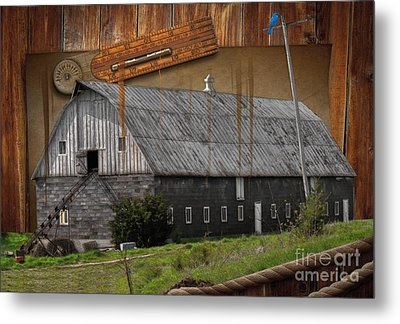 Measure Of Time Gone By Metal Print by Liane Wright