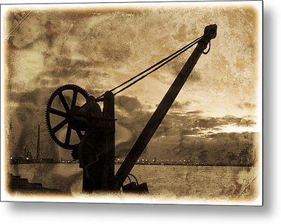 Mechanics Of The Old Days Metal Print by Semmick Photo