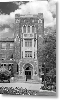 Medaille College Main Building Metal Print by University Icons