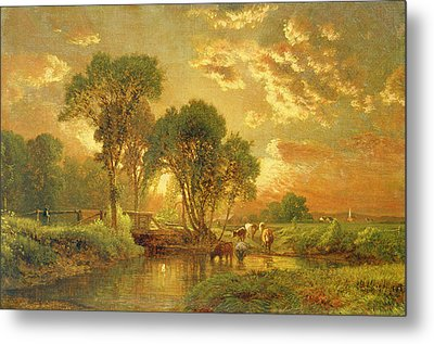 Medfield Massachusetts Metal Print by Inness