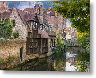 Medieval Bruges Metal Print by Juli Scalzi